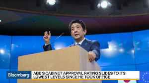News video: Shinzo Abe's Future Is Increasingly in Doubt