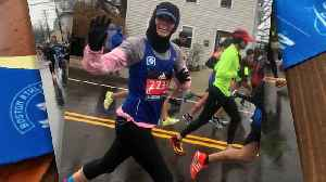 News video: Top finisher: Wisconsin woman has 18th place finish at Boston Marathon