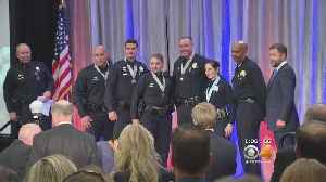 News video: Officers Recognized For Acts Of Heroism