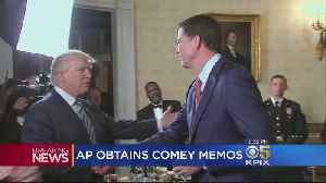 News video: Comey Memos About Trump Released to Congress, Media