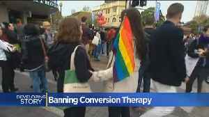 News video: California Bill Would Treat Conversion Therapy As Consumer Fraud