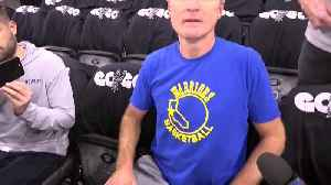 News video: Raw Video: Steve Kerr Remarks On Death Of Gregg Popovich's Wife