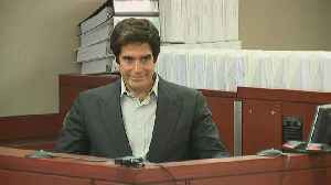News video: David Copperfield forced to reveal secrets behind vanishing act in court