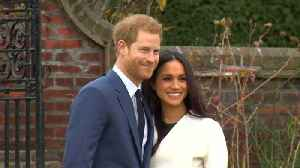 News video: Florist Predicts Floral Designs for Meghan Markle and Prince Harry's Wedding