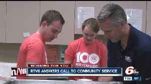 News video: Community service day to help mark United Way's 100th anniversary