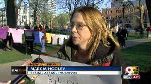 News video: Abuse survivors march at Take Back the Night