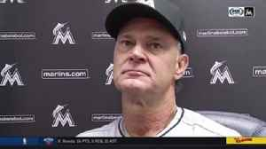 News video: Don Mattingly breaks down Marlins' loss to Brewers