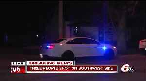 News video: Three people shot on Indianapolis' southwest side