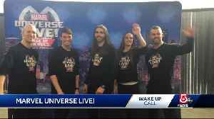 News video: Wake Up Call from Marvel Universe Live
