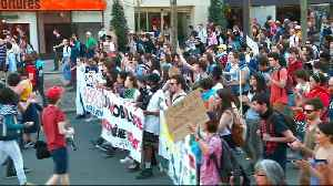 News video: Thousands protest against Macron reforms across France