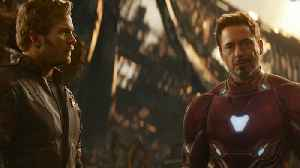 News video: 'Avengers: Infinity War': Chris Pratt and Robert Downey, Jr. Onscreen Together!