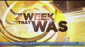 News video: The Week That Was: April 16, 2018