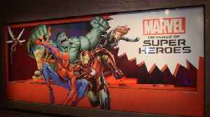 News video: Take a Tour of the New 'Marvel: Universe of Super Heroes' Exhibit!