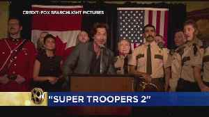News video: Rusty Review: 'Super Troopers 2' & 'I Feel Pretty'