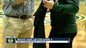News video: Bucks Gear Up For Playoff Home Opener