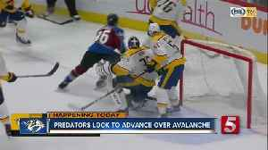 News video: Preds Hoping To Advance To Round 2 With Win Over Avalanche