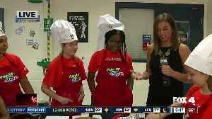 News video: Students compete in Gridiron cooking challenge