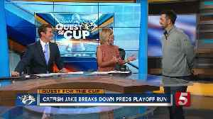 News video: 'Catfish Jake' Talks Preds Playoff Run, Pittsburgh Incident