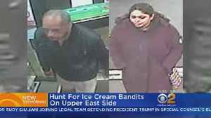 News video: Hunt For Ice Cream Bandits On Upper East Side