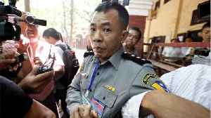 News video: Myanmar Police Captain Says They Were Ordered To 'Trap' Reuters Reporters