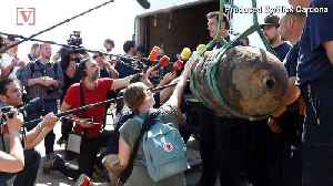 News video: Center of Berlin Evacuated Because of a 1,000 Pound WWII Bomb