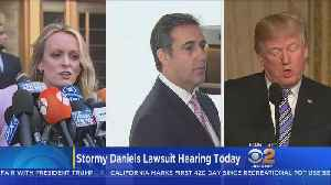 News video: Trump Lawyers Want Stormy Daniels Case Delayed After Raid On Attorney's Office