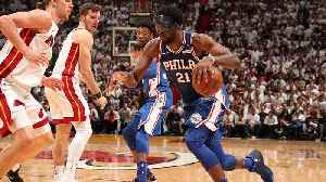 News video: NBA Playoffs: Does Joel Embiid's Return Give Sixers Clear Edge in East?
