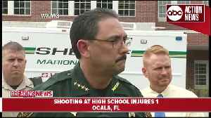 News video: One student injured in shooting at high school in Ocala, suspect in custody