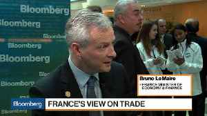 News video: France's Le Maire Says West Should Engage China on Trade