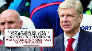 News video: Arsene Wenger leaving Arsenal after 22 seasons at club