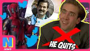 News video: Nic Cage Quits Acting, Deadpool 2's Peter Has A Secret Twitter | NW News