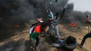 News video: Two Palestinians killed in clashes on Gaza border