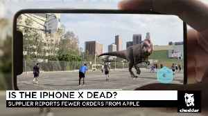News video: Is The iPhone X in Trouble?