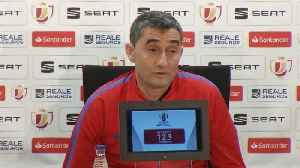 News video: King's Cup final spot not a 'gift from heaven' - Valverde