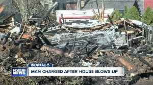News video: Man blows up home, apparent suicide attempt