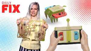 News video: Nintendo Knew You'd Destroy Your Labo