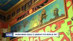 News video: Former cook transforms Tabernacle restaurant into impressive work of art--6pm