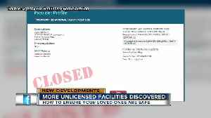 News video: More unlicensed Assisted Living Facilities discovered by St. Pete Police