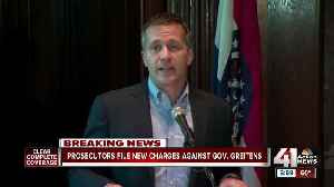 News video: Prosecutors file new charge against Greitens