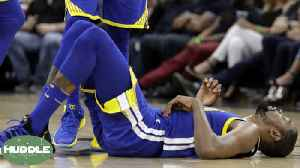 News video: Is Kevin Durant Making His Injury Sound Worse Than It Is? | Huddle