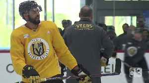 News video: Golden Knights return to practice after first round sweep