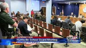 News video: Huntsville School Board Meeting