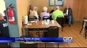 News video: Coffee with a Cop in Aberdeen