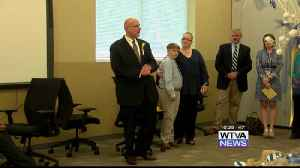 News video: Farewell reception for Tupelo Superintendent