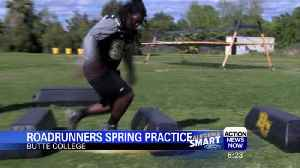 News video: Butte College football team begins spring practice