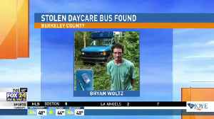 News video: Officers Recover Stolen Daycare Bus
