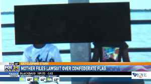 News video: Mother Files Lawsuit Over Confederate Flag Photo