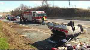 News video: Wrong-way driving precedes crash on Route 61 in Berks