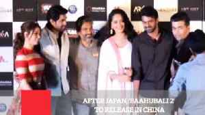 News video: After Japan, 'Baahubali 2' To Release In China
