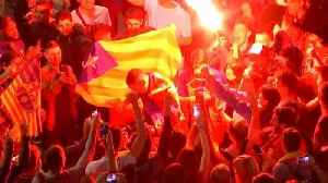 News video: Barcelona fans party after thrashing Sevilla in cup final